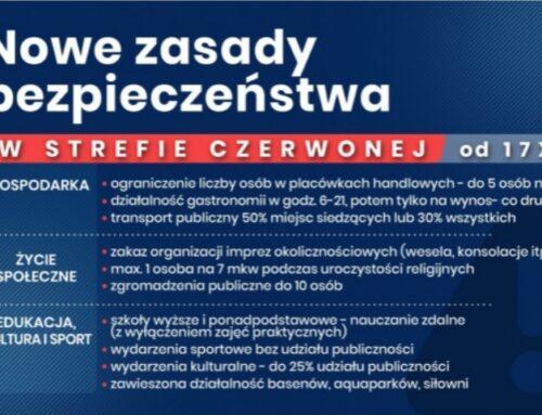 Nowe zasady bezpieczeństwa w całym kraju w związku z COVID