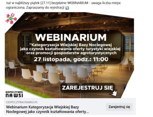 Webinarium (27 listopada 2020 r.)