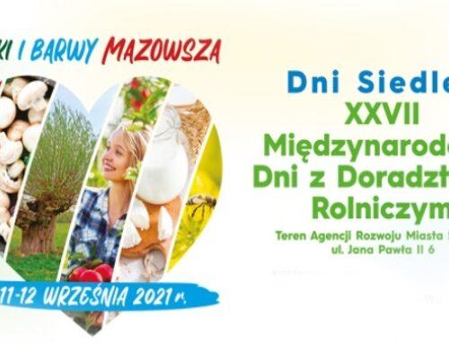 XXVII Międzynarodowe Dni z Doradztwem Rolniczym